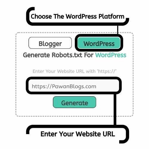 generate Robots.txt file for WordPress