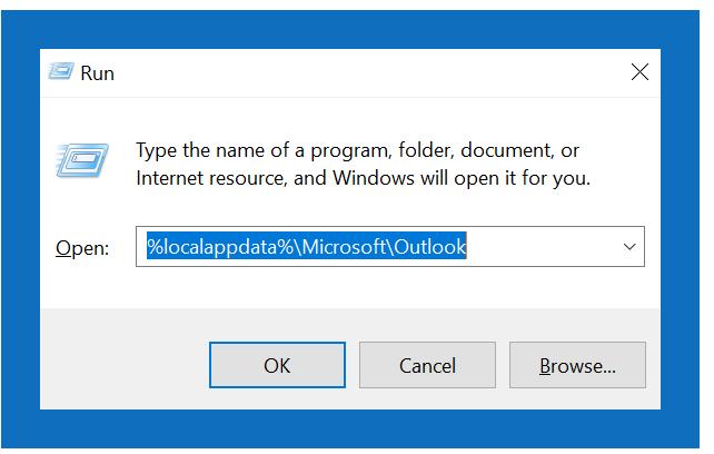 Outlook error [pii_pn_8a68e8c174733080624b]