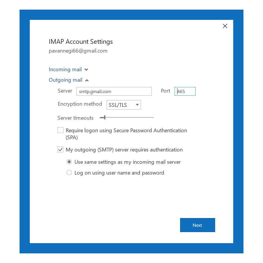 Outlook Smtp error [pii_pn_8a68e8c174733080624b]
